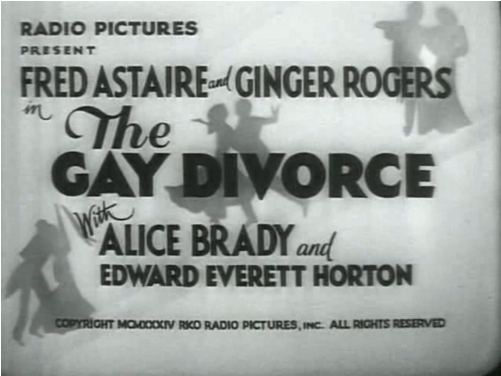Cast: Ginger Rogers and Fred Astaire, with an appearance by a young Betty ...